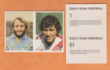 Coventry City Roger Van Gool Belgium Crystal Palace Kenny Sansom England